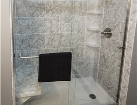 Bathroom Remodeling - Tub to Shower Conversions Photo 4