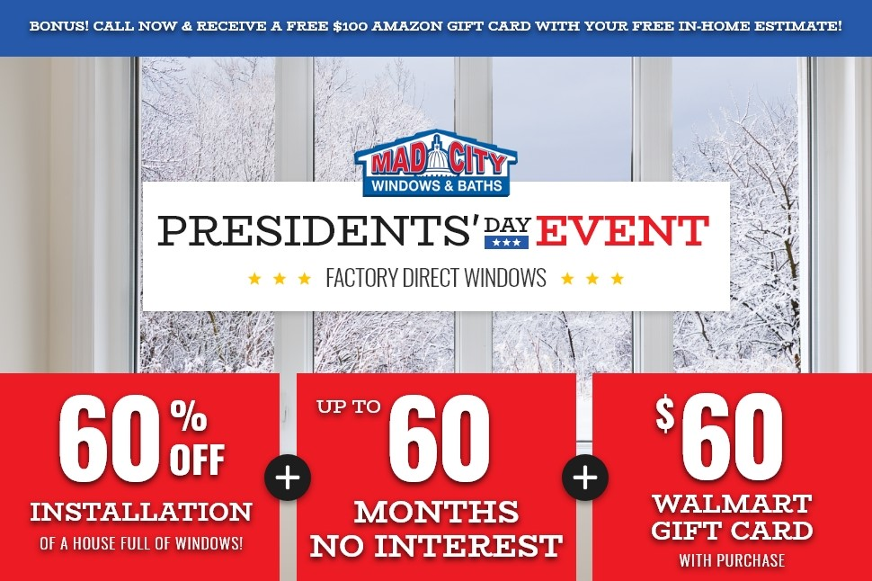 PRESIDENT'S DAY WINDOW EVENT