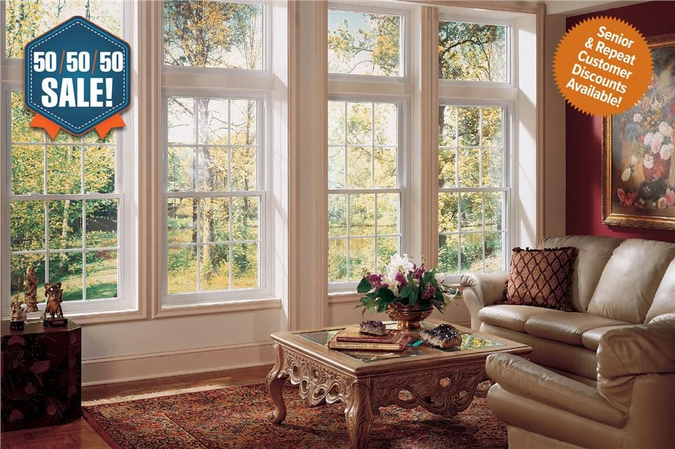 50/50/50 WINDOWS SALE!