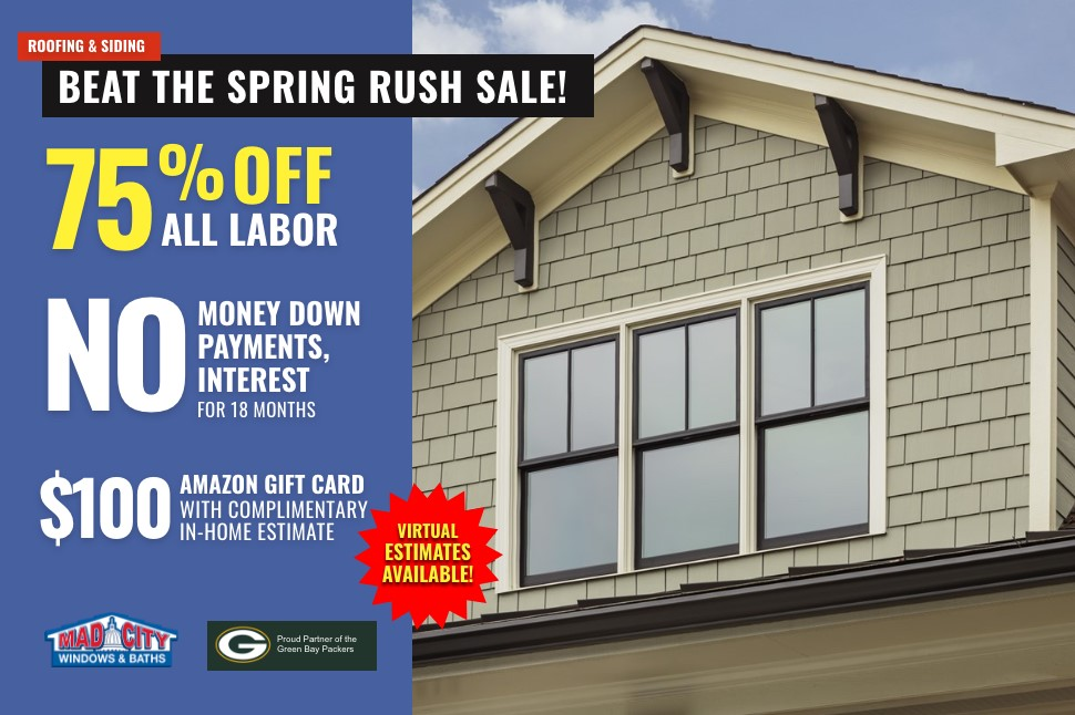 Beat The Spring Rush Sale!