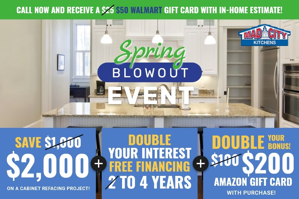 SPRING KITCHENS BLOWOUT EVENT