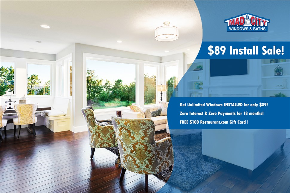 $89 Install Sale! Get Unlimited Windows INSTALLED for only $89!