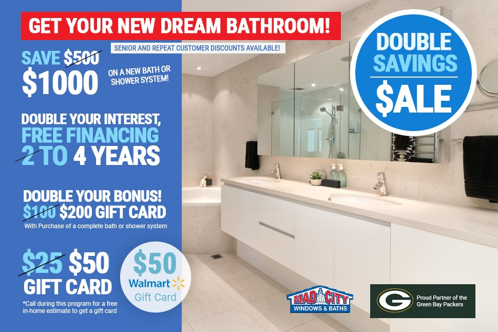 Get Your New Dream Bathroom