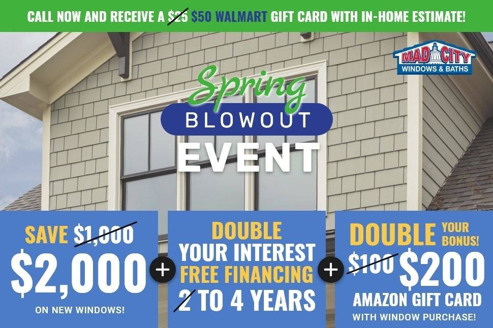 SPRING WINDOWS BLOWOUT EVENT