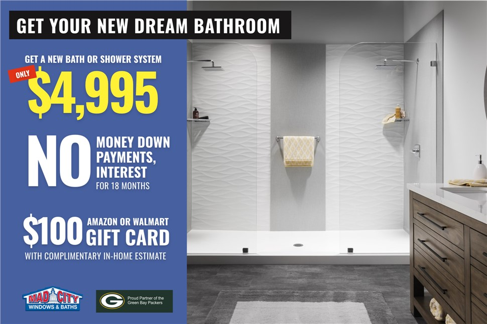 Get Your New Dream Bathroom!