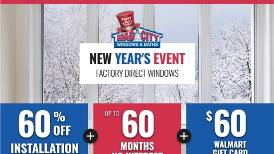 NEW YEAR'S WINDOW EVENT
