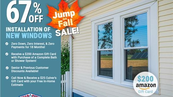 67% Off Installation Of New Windows