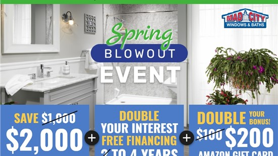 SPRING BATHS BLOWOUT EVENT