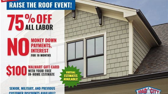 Roofing Sale