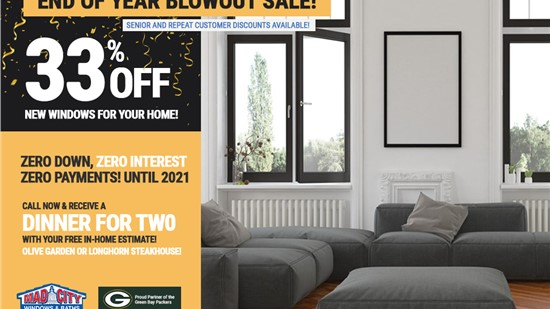 Window Replacement Offer