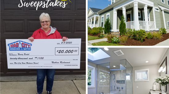 Enter Our Summer Sweepstakes Now! Win a $25,000 Home Makeover!