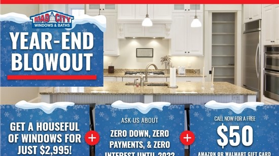 END OF YEAR BLOWOUT KITCHEN SALE
