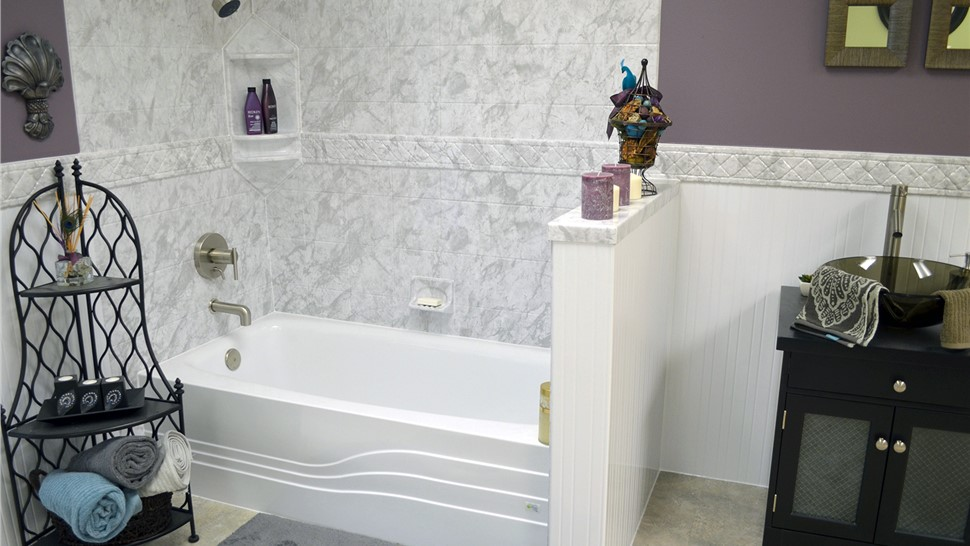 Bathroom Remodel - Bath Wall Surrounds