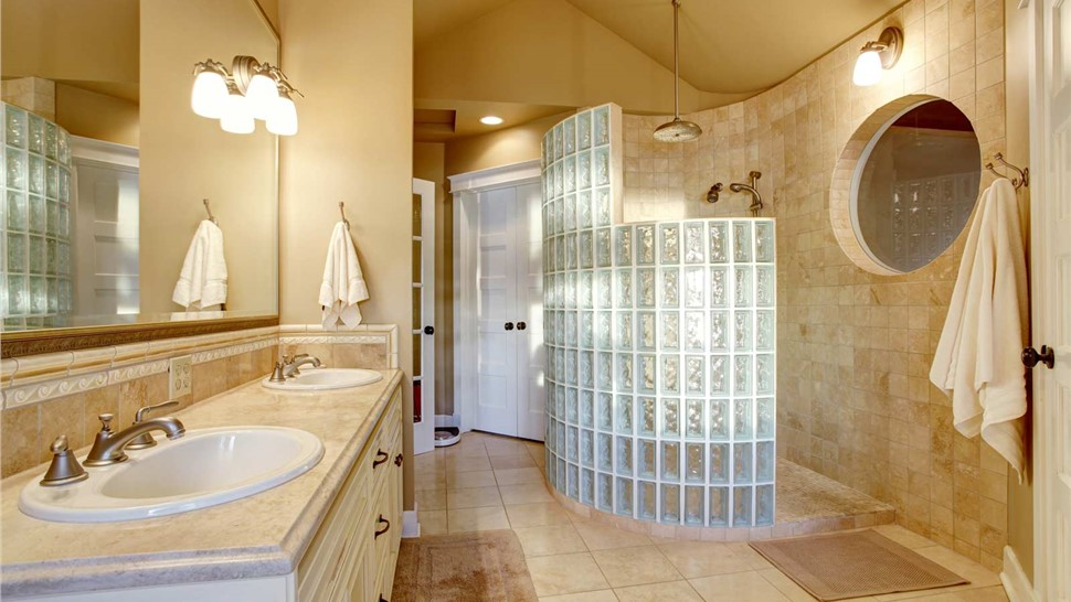 Additional Services - Glass Block Walls