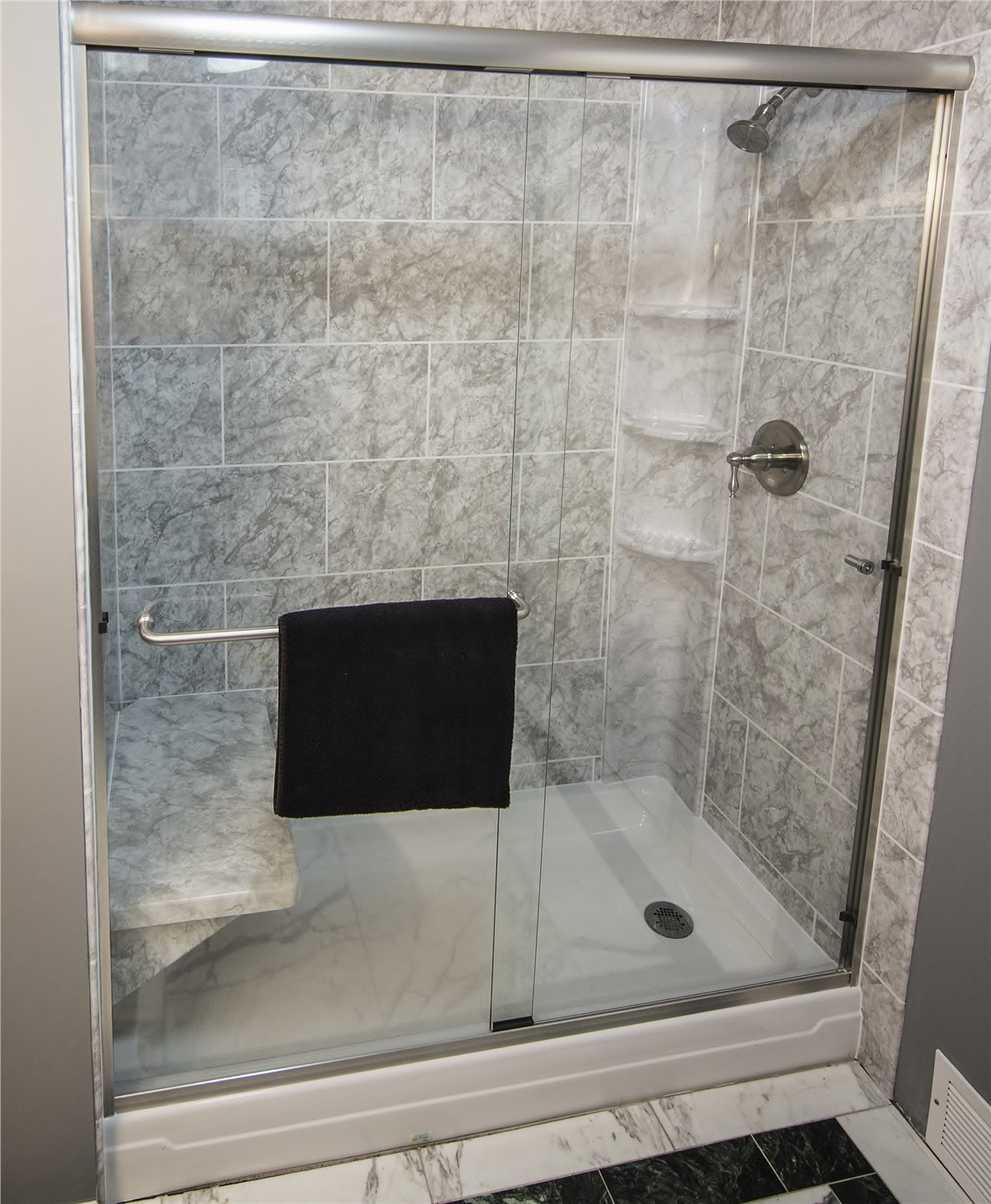 Shower Wall Surrounds | Bathroom Renovation Services | Matrix Bath ...