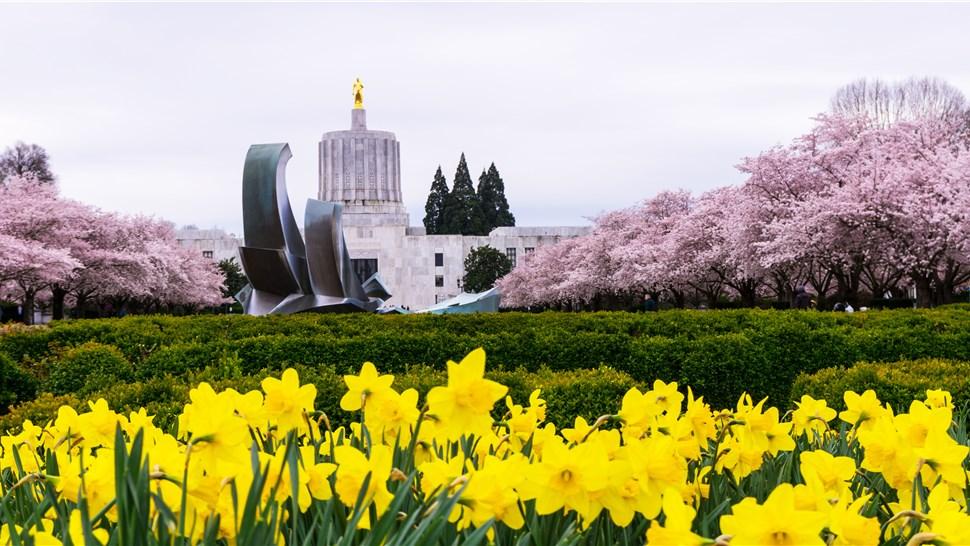 Salem Oregon State Capital Building
