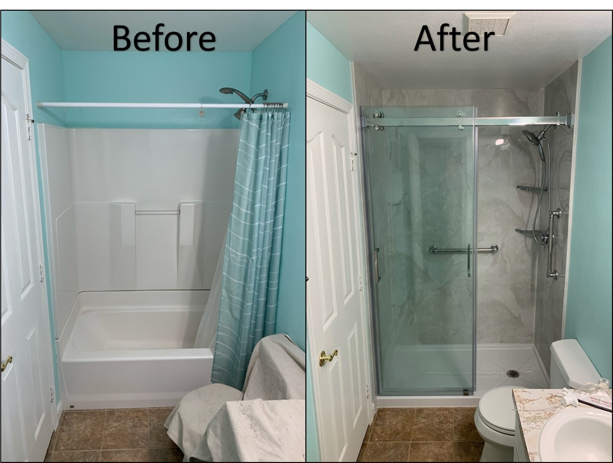 Portland Tub to Shower Conversions  Miller Home Renovations