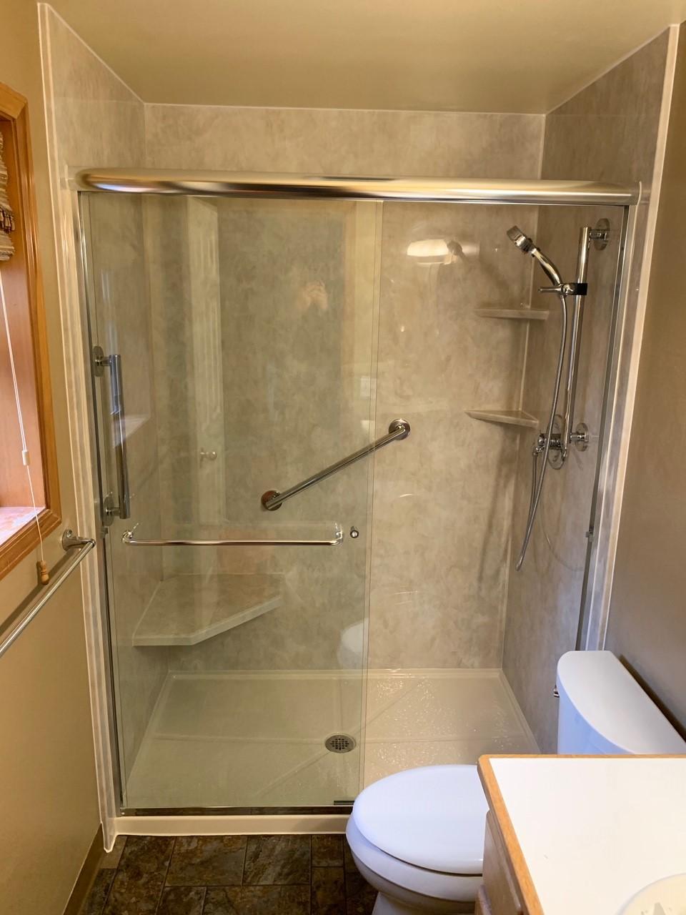 Portland Walk In Shower Installation   Miller Home Renovations