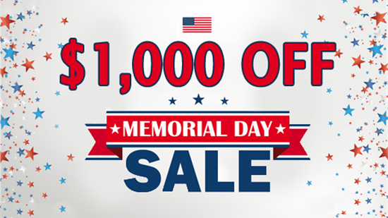 MEMORIAL DAY SPECIAL: $1,000 Off your Tub-to-Shower Conversion or Shower Replacement!