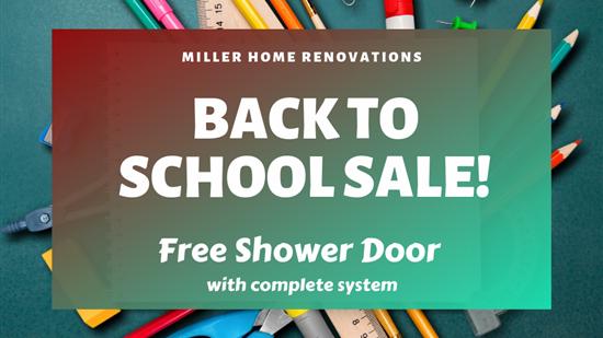 Shower Remodeling Offer