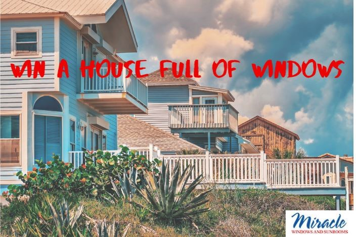 WIN A WHOLE HOUSE OF WINDOWS FREE* (Value Up To $25,000)