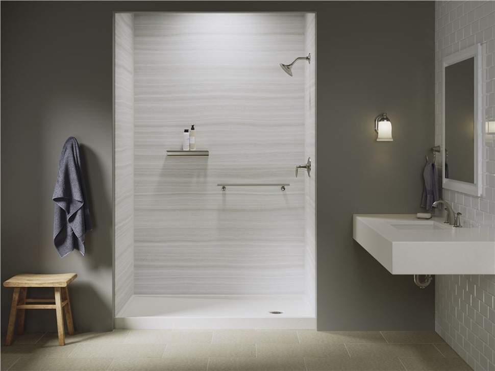Save $1,000 on KOHLER LuxStone Shower Experience