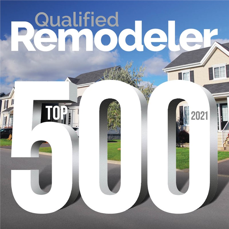 Mr. Roofing named to Qualified Remodeler  TOP 500 for 2021