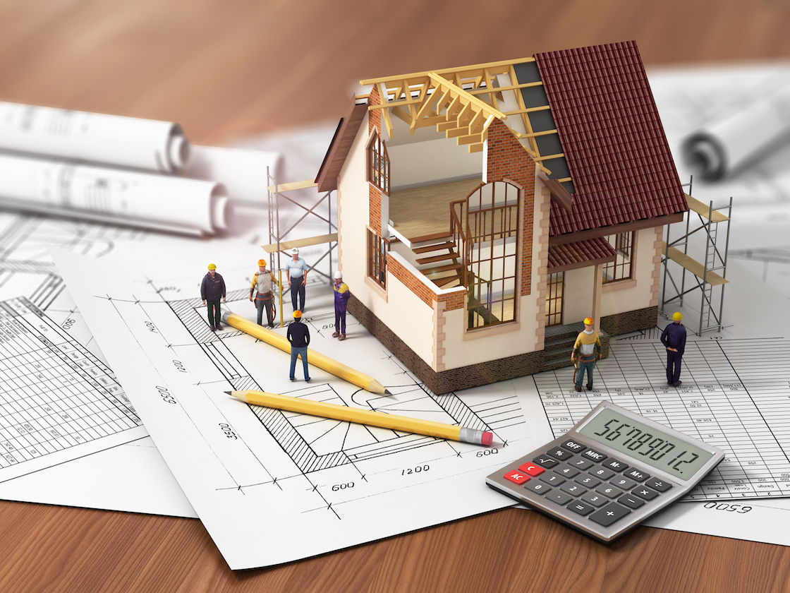 House model and plans