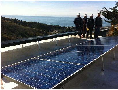 Mr Roofing solar install