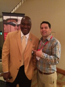 Mr Roofing Carlos and Derrick Brooks
