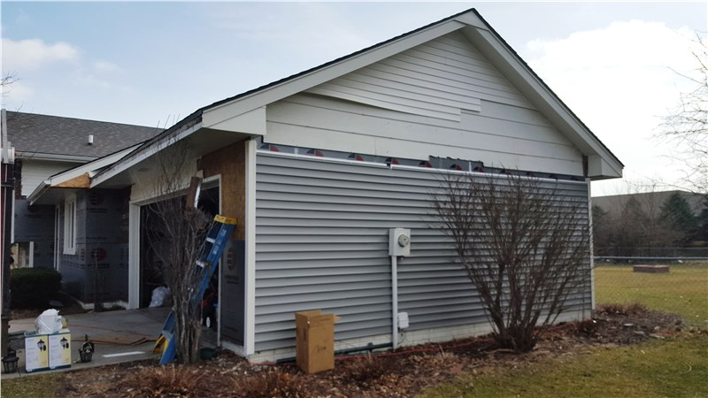 Johnston Iowa Insulated Vinyl Siding Replacement