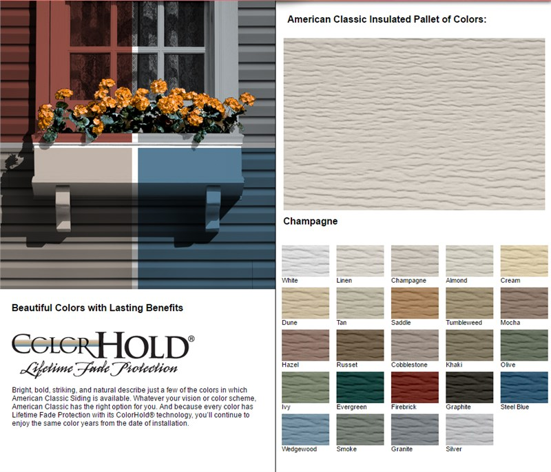 Is It Wood Is It Fiber Cement No It Is An Advanced Composite Polymeric Siding Called Everlast