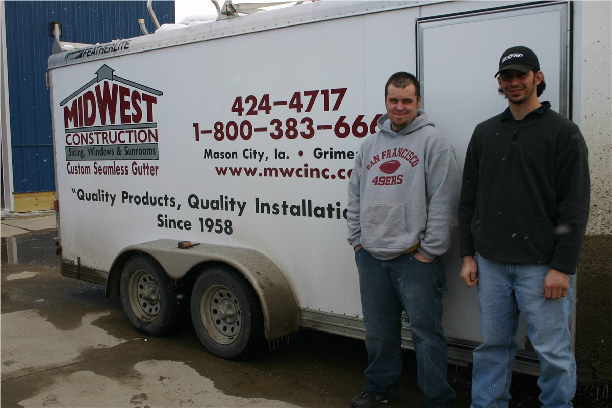 Replacement Gutters Gutter Protection Midwest Construction