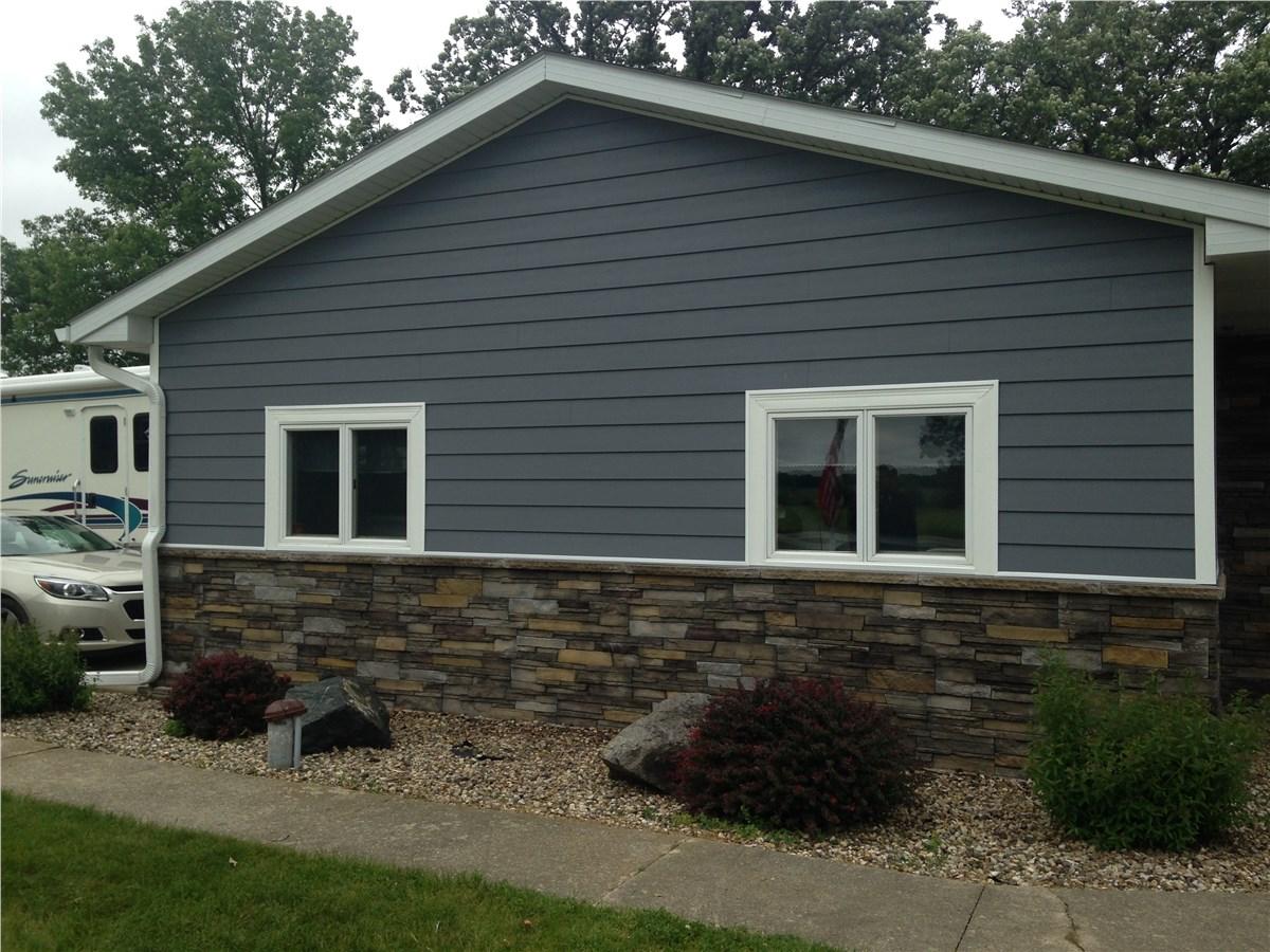 Vinyl Siding Options Des Moines Iowa Midwest Construction