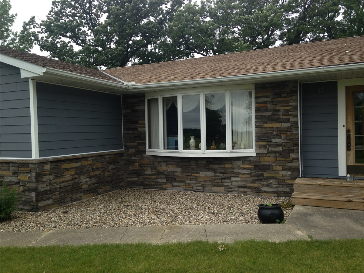 Vinyl Siding Options Des Moines Iowa Midwest Construction