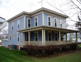 Historic Restoration with Vinyl Siding and Vinyl Building Products Photo 4