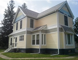 Historic Restoration with Vinyl Siding and Vinyl Building Products Photo 2