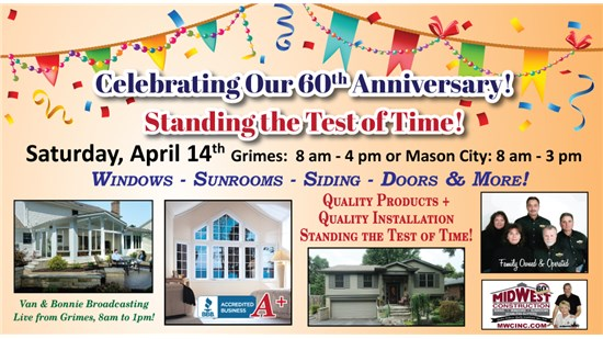 60th Anniversary Open House