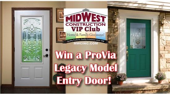 ProVia Legacy Model Entry Door