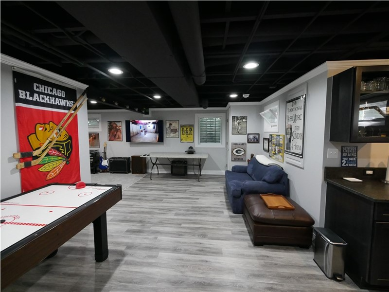 Basement Transformations Building A Man Cave Matrix Basement Systems Inc Blog