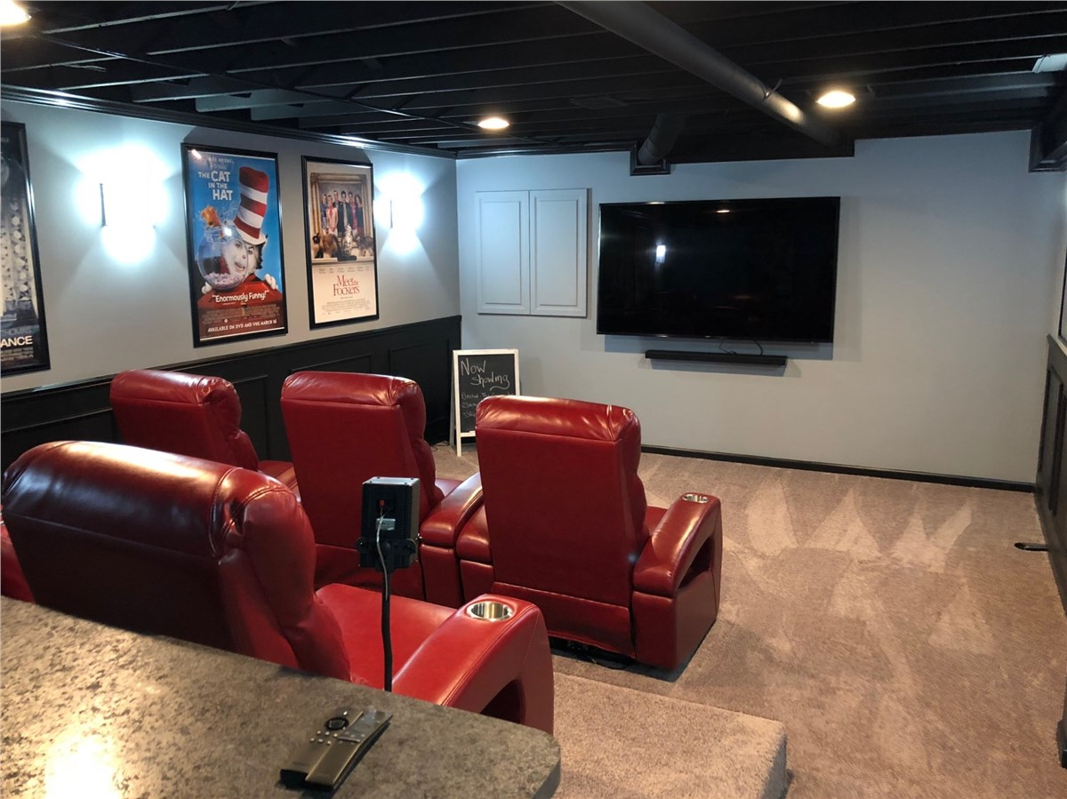 Basement Home Theater Finishing Matrix Systems Wiring Electrical Services For Finished Basements Click To View More