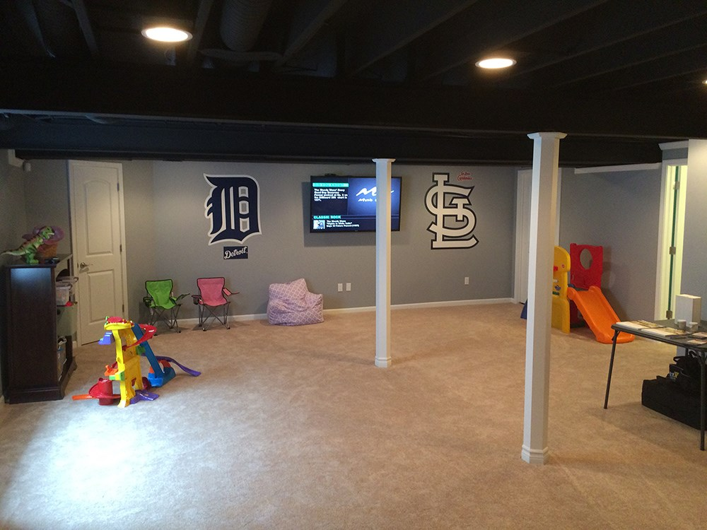 Super Basement Kids Playroom Chicago Basement Finishing Company Home Interior And Landscaping Ologienasavecom