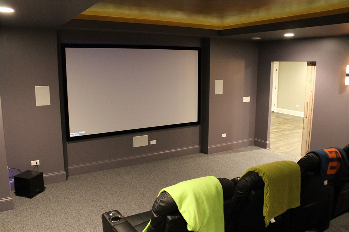 Basement Home Theater Finishing Matrix Systems Wiring Finished Click To View More