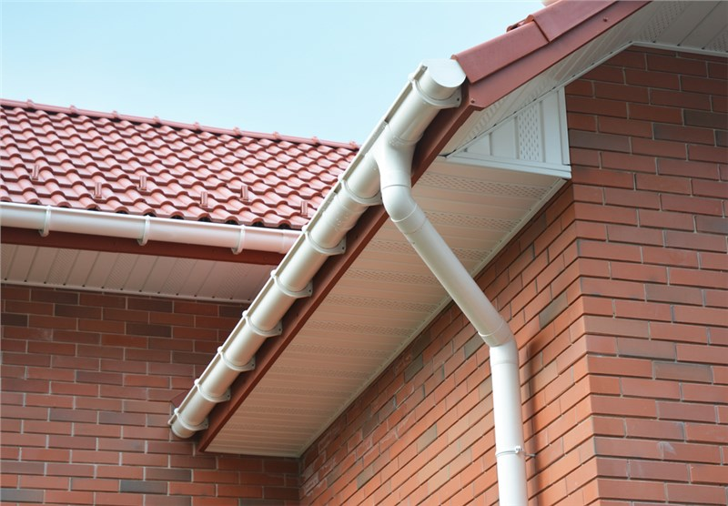 you might notice that something is missing if you dont have soffits and fascias installed most homeowners have them added as part of their roofing - Parts Of Roof
