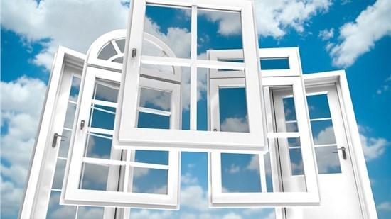 Clean White Windows