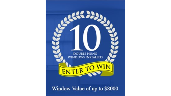 Win 10 White Double Hung Windows Installed