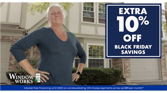 Extended Black Friday Sale - Get an extra 10% Off an already 60% Off Labor! + Interest Free Financing Until 2022