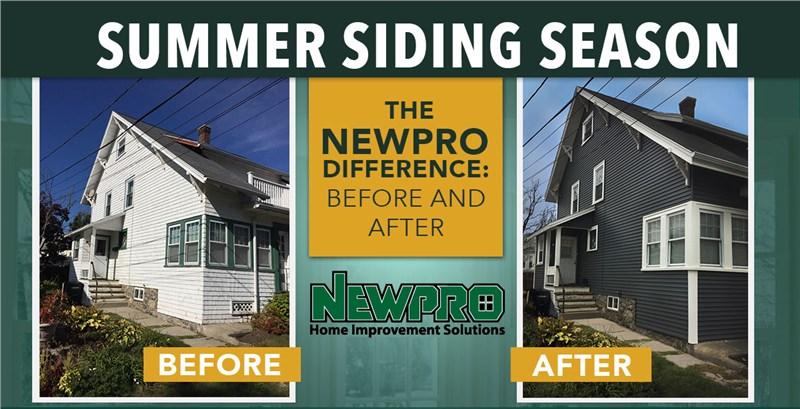 NEWPRO's Summer Siding Month!