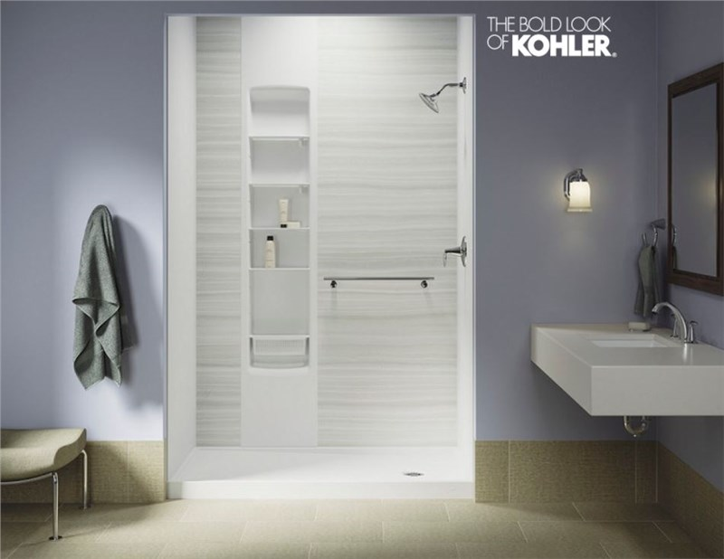 Acrylic Or Tile   Thatu0027s The Usual Question When It Comes To Choosing Your  Bathroom Walls. But Today Thereu0027s A Third Option: LuxStone™ By Kohler®.