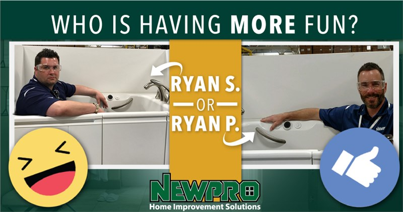 Two Ryans And a Tub.
